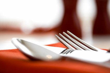 Restaurant table place setting - mobile apps for restaurants